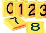 Kokernummers-geel